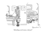 """Rekindling an old romance. And you?"" - New Yorker Cartoon Premium Giclee Print by Danny Shanahan"