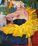 La Clownesse Cha-U-Kao Lámina giclée premium por Henri de Toulouse-Lautrec