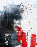 Composition of Pieces Premium Giclee Print by Ingo Leth