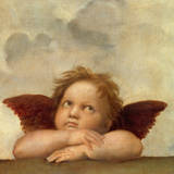 Angel II Reproduction giclée Premium par  Raphael