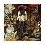 Hispanic-America, from the Epic of American Civilization, 1932-34 Giclee Print by Jose Clemente Orozco