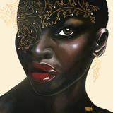 Ebony Gicléetryck på högkvalitetspapper av Sandra Knuyt