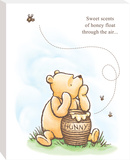 Disney Winnie the Pooh - Pooh Sweet Honey Canvas Stretched Canvas Print