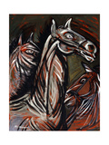 Horses; Caballos Giclee Print by Jose Clemente Orozco