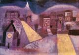 Paul Klee - Winterlandschaft Speciální digitálně vytištěná reprodukce