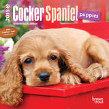 Cocker Spaniel Puppies - 2015 Mini Calendar Calendars