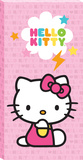 Hello Kitty Pink Lightning Bolt Canvas Stretched Canvas Print