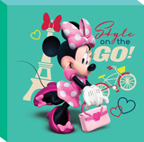 Disney Minnie Mouse - Minnie Style on the Go Canvas Stretched Canvas Print