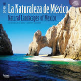 La Naturaleza de Mexico - Natural Landscapes of Mexico (Spanish-English) - 2015 Calendar Calendars