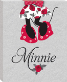 Disney Minnie Mouse - Minnie Shoes Canvas Stretched Canvas Print