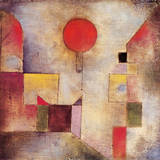 Roter Ballon Premium Giclee Print by Paul Klee
