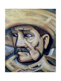 Revolutionary, C.1945 Giclee Print by David Alfaro Siqueiros