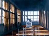 Bildbetrachtung Giclée-Premiumdruck von Henning Von Gierke