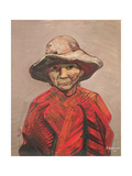 Farmer, 1960 Giclee Print by David Alfaro Siqueiros