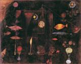 Magie des poissons Reproduction giclée Premium par Paul Klee