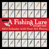 A Fishing Lure Every Day - 2015 Calendar Calendars