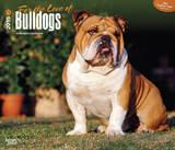 For the Love of Bulldogs - 2015 Deluxe Calendar Calendars