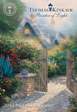 Thomas Kinkade Painter of Light - 2015 Monthly Pocket Planner Calendar Calendars