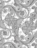 Black and White Paisley Patterned - 2015 Engagement Calendar Calendars
