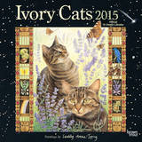 Ivory Cats by Lesley Anne Ivory - 2015 Calendar Calendars