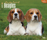 For the Love of Beagles - 2015 Deluxe Calendar Calendars