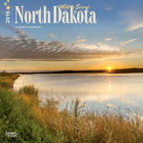 North Dakota, Wild & Scenic - 2015 Calendar Calendars