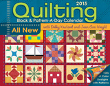 Quilting Block & Pattern-a-Day - 2015 Calendar Calendars