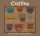 Coffee - 2015 Deluxe Calendar Calendars
