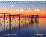 Canadian Geographic Scenes - 2015 Double-View Easel Calendar Calendars