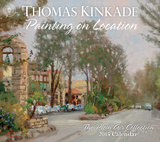 Thomas Kinkade Painting on Location - 2015 Deluxe Calendar Calendars
