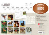 Horses - 2015 Desk Pad Calendar Calendars
