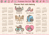 Pusheen the Cat - 2014-15 16-Month Poster Calendar Calendarios