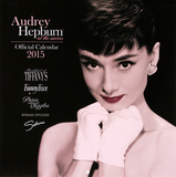 Audrey Hepburn at the Movies - 2015 Calendar Calendars