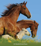 Horse Lovers - 2015 Monthly Personal Planner Calendars