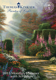 Thomas Kinkade Painter of Light with Scripture - 2015 Monthly Pocket Planner Calendar Calendars