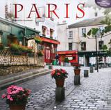 Paris (Red Foil) - 2015 Calendar Calendars