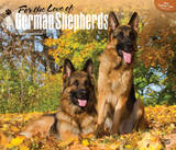 For the Love of German Shepherds - 2015 Deluxe Calendar Calendars