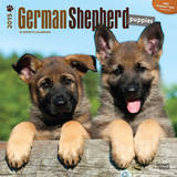 German Shepherd Puppies - 2015 Calendar Calendars