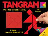 Tangram Magnet Puzzle-a-Day - 2015 Calendar Calendars