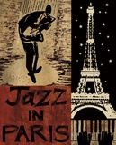 Jazz After Nightfall Prints by  Global Art Studios