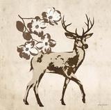 Vintage Lodge Elk Posters by Morgan Yamada