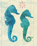 Maritime Sea Horse Posters by  Z Studio
