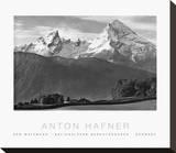 Watzmann Trykk på strukket lerret av Anton Hafner