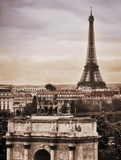 Paris Vista Prints by Michael Greenwood