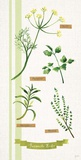 Favourite Herbs Panel Posters by Bella Dos Santos