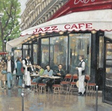 Jazz Cafe Paris Posters by Norman Wyatt Jr.