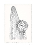 New York Sketch Pen & Ink Prints by  Art Atelier