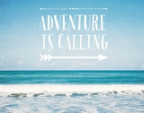 Adventure Is Calling Prints by  Susannah Tucker Photography