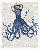 Octopus Love Posters by Christopher James