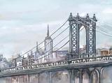 Watercolour Sketch Book New York Art by  Art Atelier Alliance